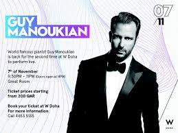 Legendary pianist Guy Manoukian to perform live in Doha