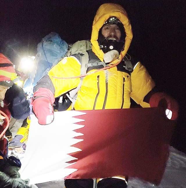 First Arab on Mount Everest is Qatari youth Fahad Badar