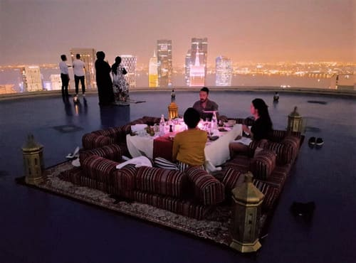 Full Moon Helipad Dinner Experience
