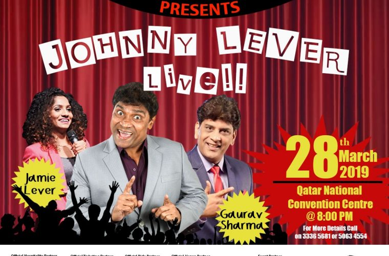 JOHNNY LEVER LIVE - DOHA 2019
