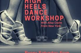 High heels workshop with Alisa Claire