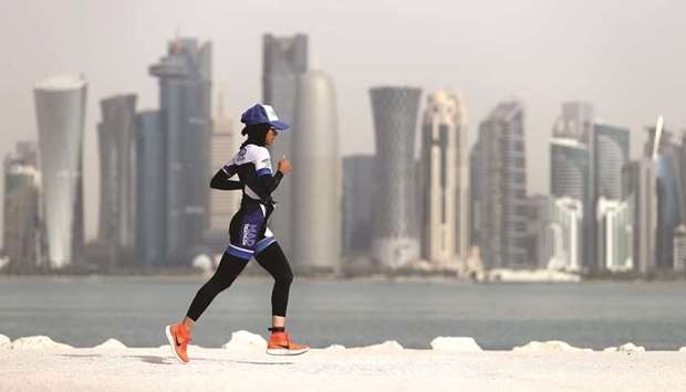 The Pearl Qatar Triathlon 2019