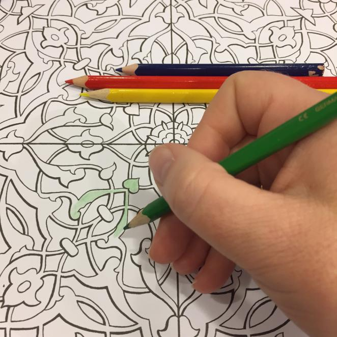 Coloring for Adults: Islamic Patterns