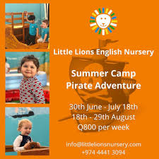 Little Lions English Nursery summer camp