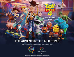 Toy Story station at Doha Festival City