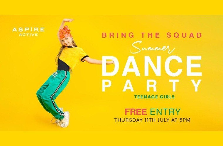 Girls Summer Dance Party at Aspire Active
