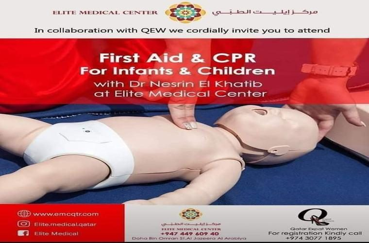 CPR & First Aid Seminar at Elite Medical center