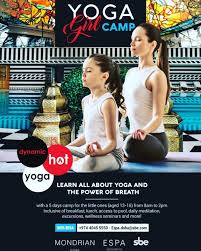 Annanda Warriors Yoga Camp at Mondrian Doha