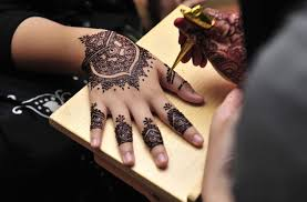 Henna and Face Painting at Al Khor Mall