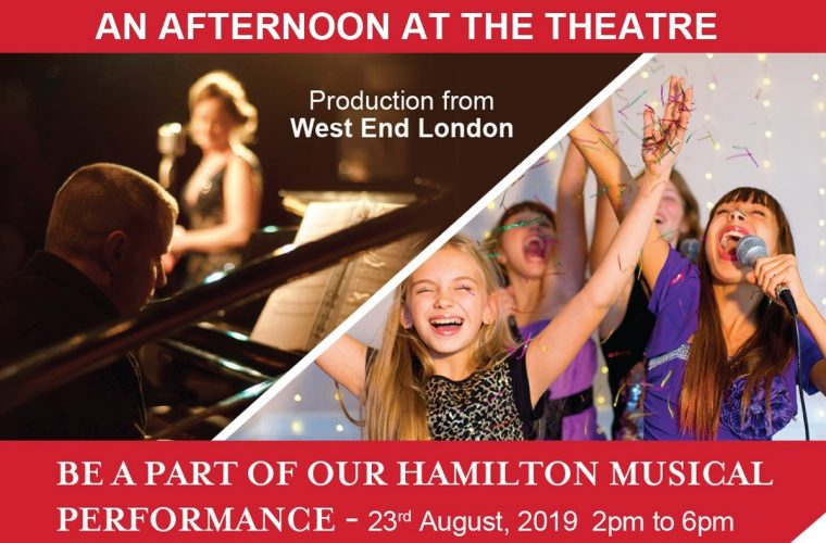 An Afternoon at the Theatre at The Hamilton school