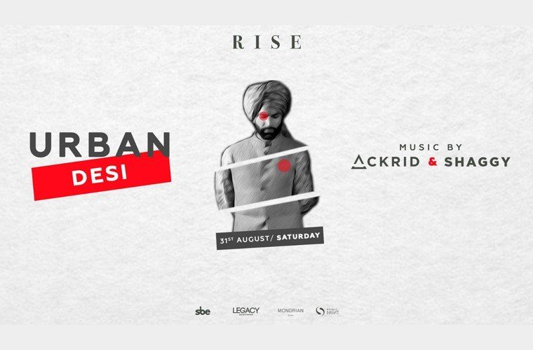 31st August, Saturday - Urban Desi