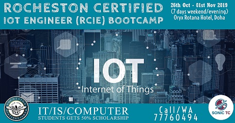 ROCHESTON's Certified IoT Engineer (RCIE) Certification