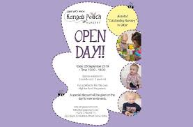 Open Day at Kanga's Pouch Nursery