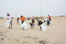 As Salwa Beach Cleanup