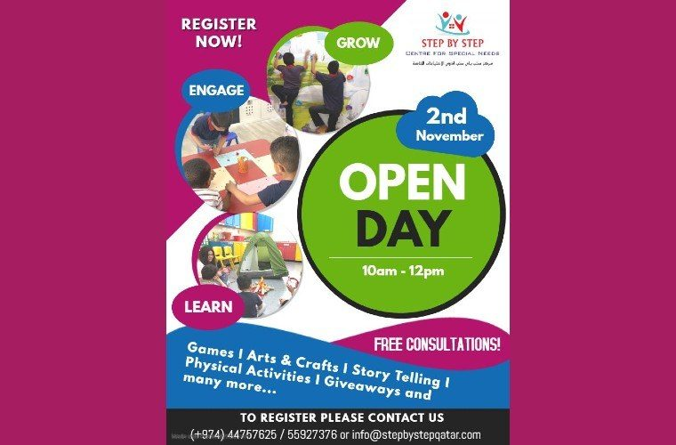 Open Day at Step by Step Center