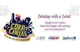 Cork & Canvas at Radisson Blu Hotel