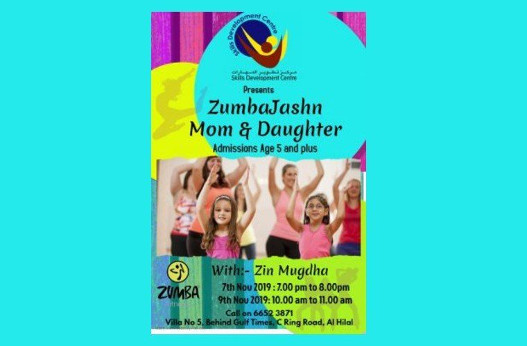 Zumbajashn for Mom & Daughter