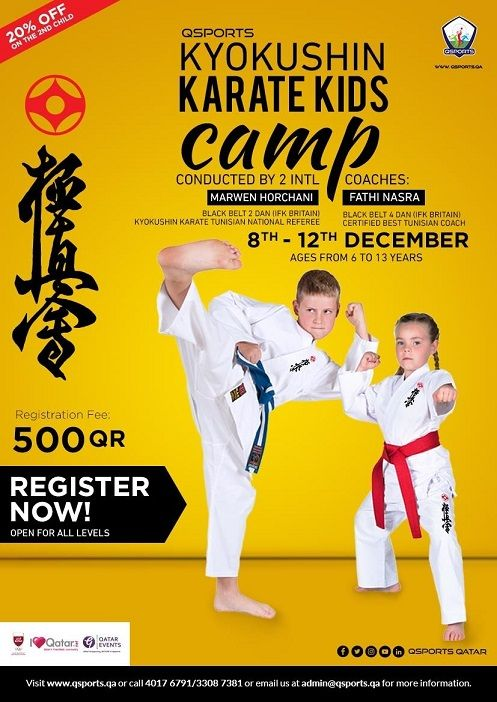 QSports Kyokushin Karate Camp