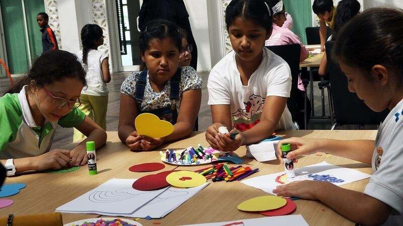 Fun with Science at Education City Clubhouse