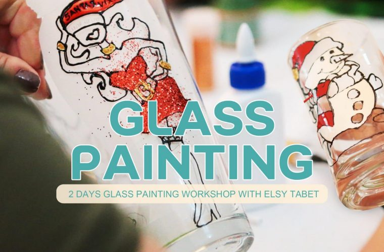 Glass Painting Workshop at Music & Arts Atelier
