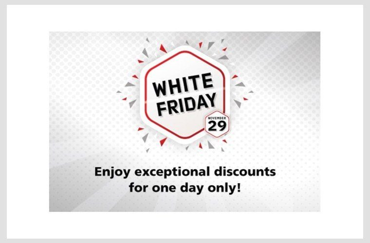 White Friday Sale at Mall of Qatar