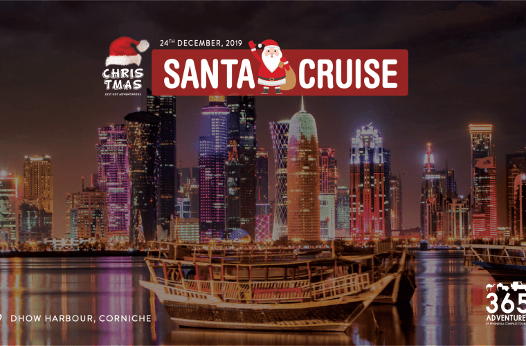 Santa Cruise in Qatar