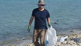 Umm Bab Beach Cleanup