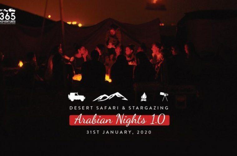 Arabian Nights 1.0 - Desert Safari & Stargazing