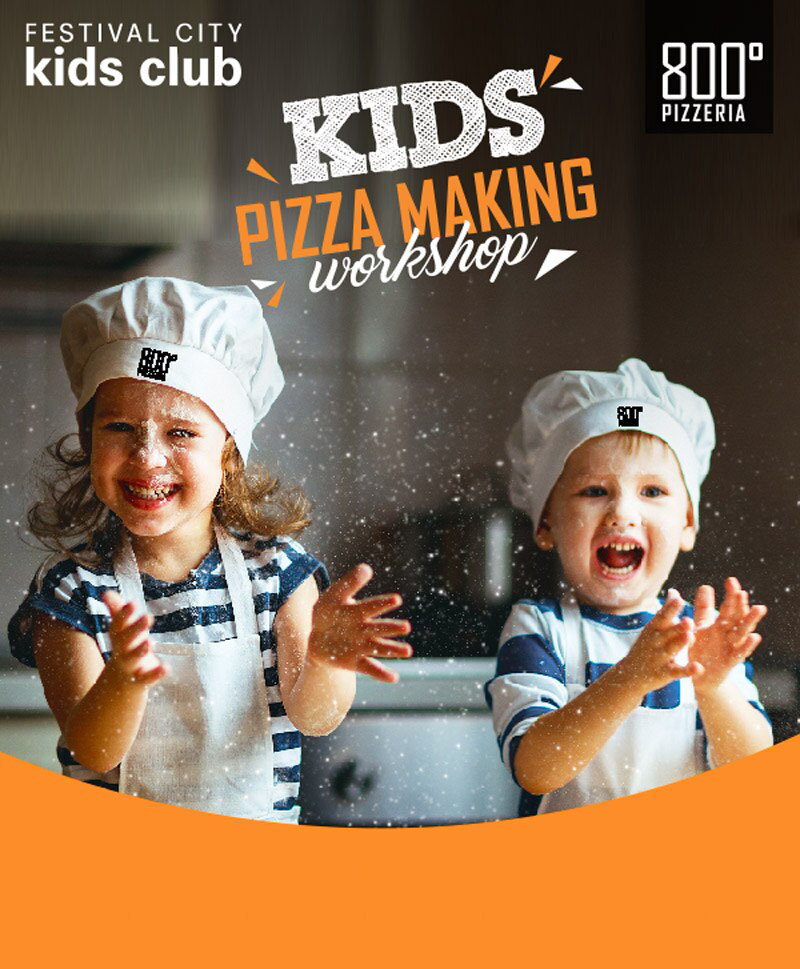 Pizza making workshop with 800° Pizzeria
