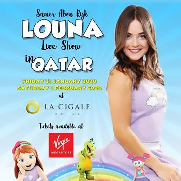 Louna Live Show In Qatar