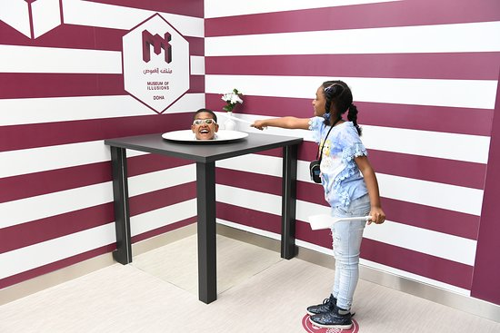 Qatar National Sports Day at Museum of Illusions