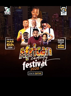African Comedy Festival in Doha
