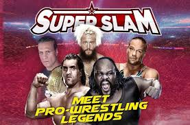 Meet and Greet Wrestling icons at Doha Festival City