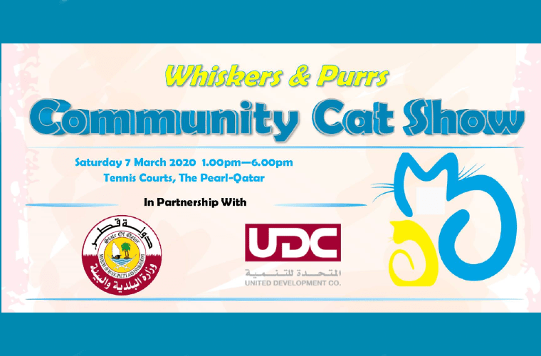 Whiskers & Purrs Community Cat Show at The Pearl