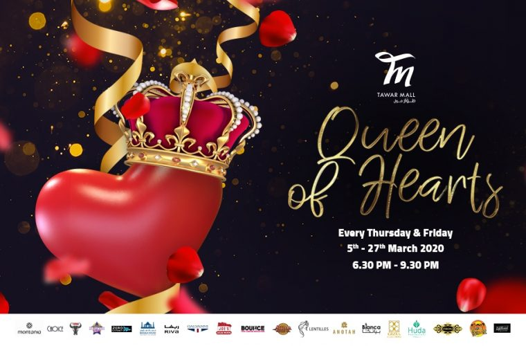 Queen of Hearts at Tawar Mall