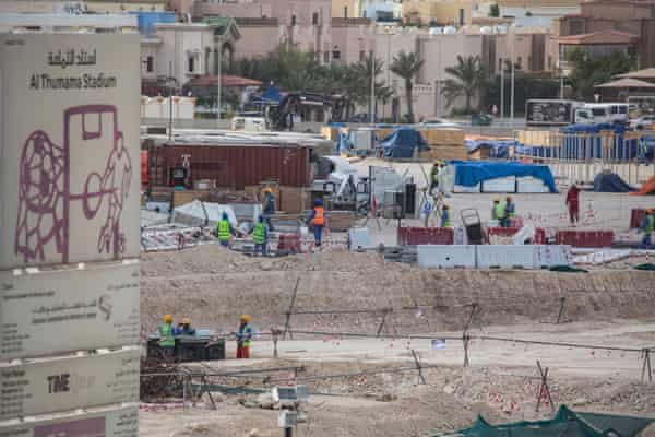 It's 'business as usual' for Qatar World Cup workers