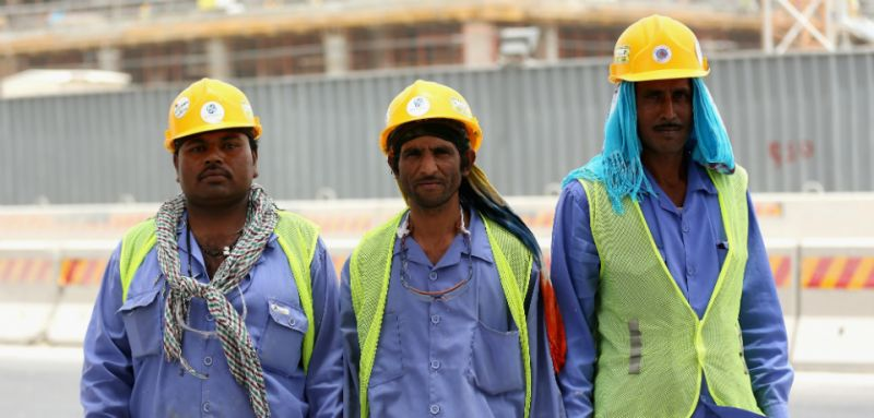 Foreign laborers in Qatar can't afford a lockdown