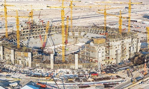 Qatar presses on with World Cup projects