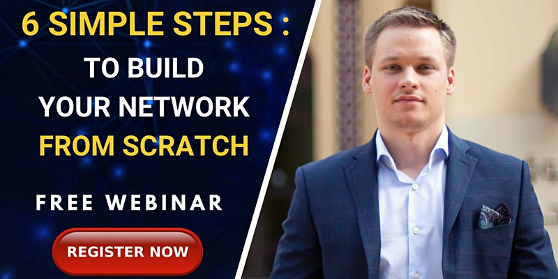 FREE LIVE WEBINAR about building your network