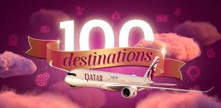 Qatar Airways is now flying to 100 Destinations