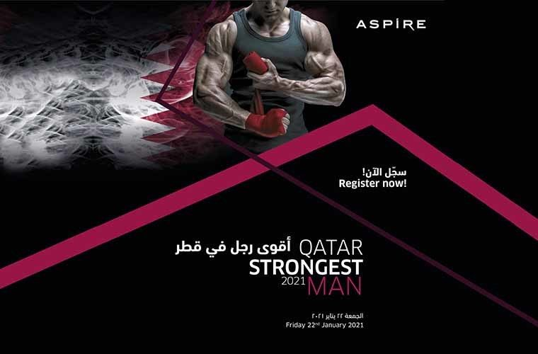 Qatar Strongest Man 2021 by Aspire Zone