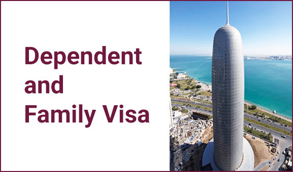 Dependent and family visa information