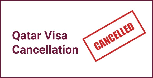 qatar visa cancellation